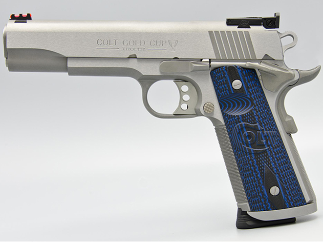 Colt Gold Cup Trophy handgun
