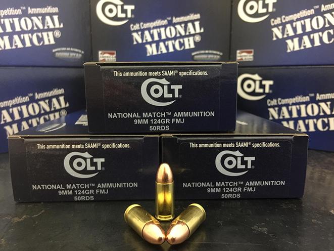 colt national match new ammo