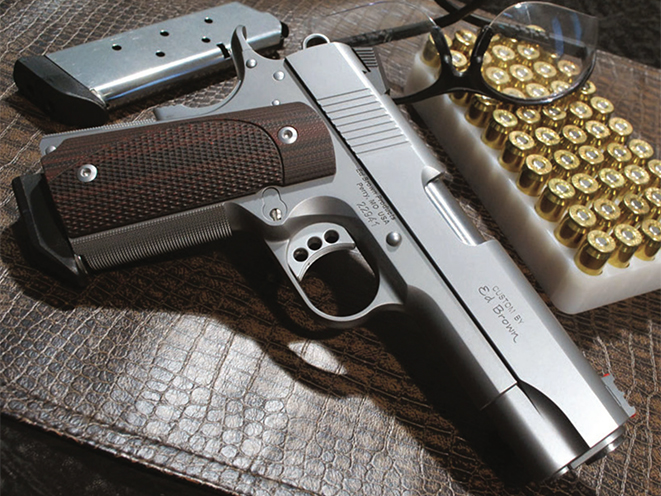 Ed Brown Compact 1911 pistol