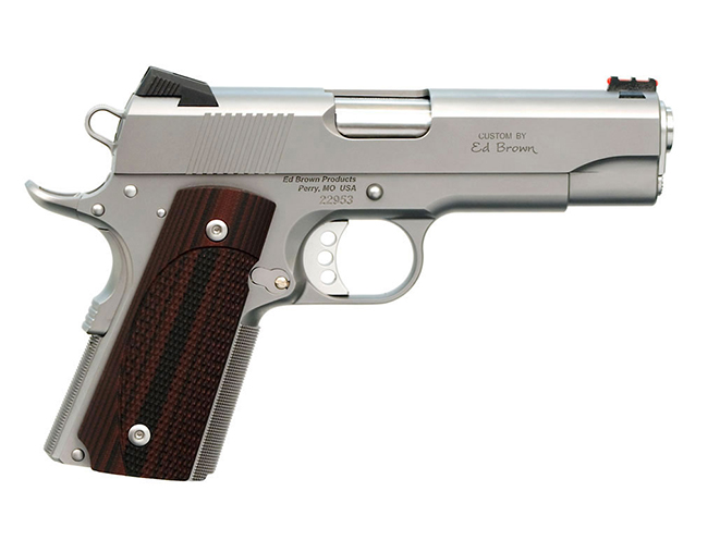 Ed Brown Compact 1911 handgun