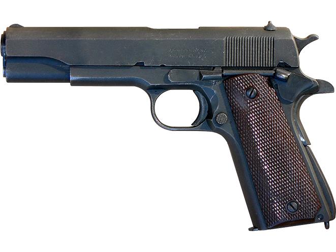M1911A1 pocket pistol