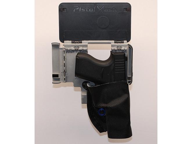 pistol mask cell phone