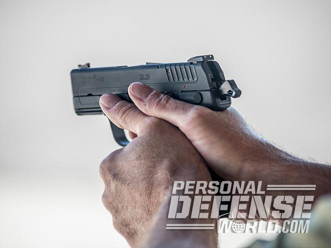 Springfield XDE close up