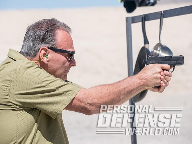 Springfield XDE target practice