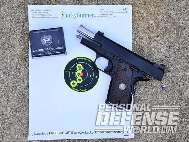 Wilson Combat Sentinel XL ammo