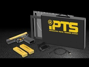 interactive pistol training system