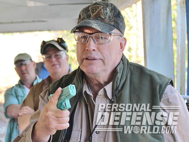 active shooters pistol grip
