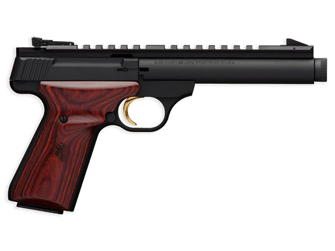 Browning Buck Mark Field Target Suppressor Ready pistol