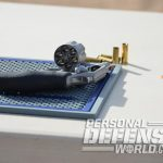 Colt Cobra revolver cylinder and ammo