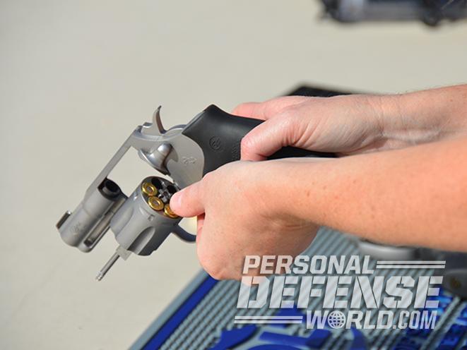 Colt Cobra revolver loading ammo