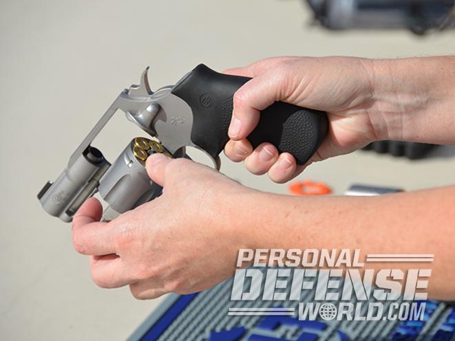 Colt Cobra revolver loading