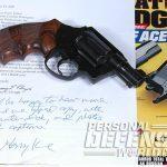 Colt Cobra revolver combat handguns letter