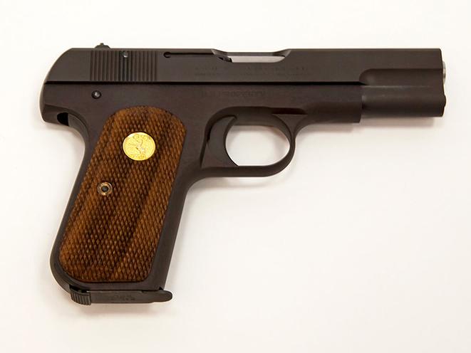 Colt Model 1903 Pocket Hammerless right side mouse guns
