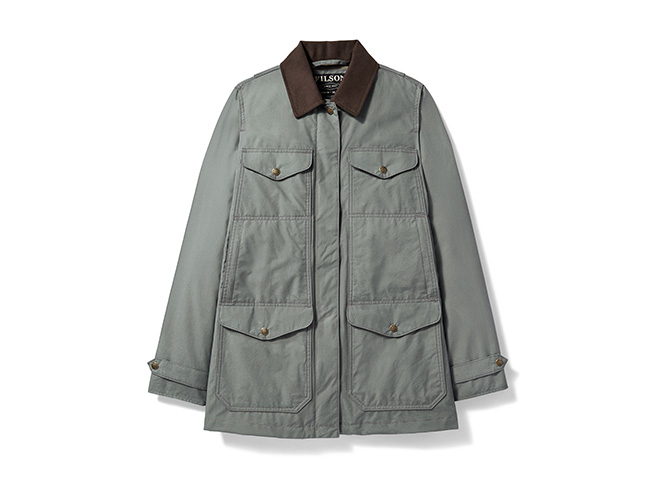 Filson Explorer jacket shooting gear