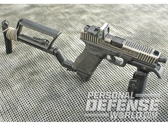 Stocked Up: Converting a Glock 17 into a CQB Carbine