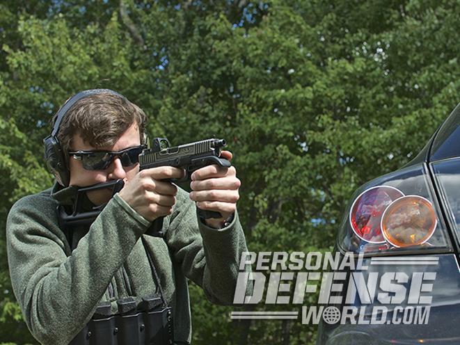 glock 17 carbine gun fire