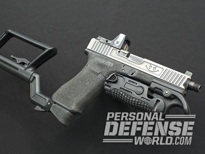 glock 17 carbine pistol