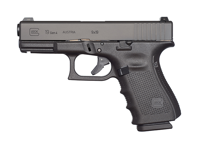 Glock 19 Gen4 pistol
