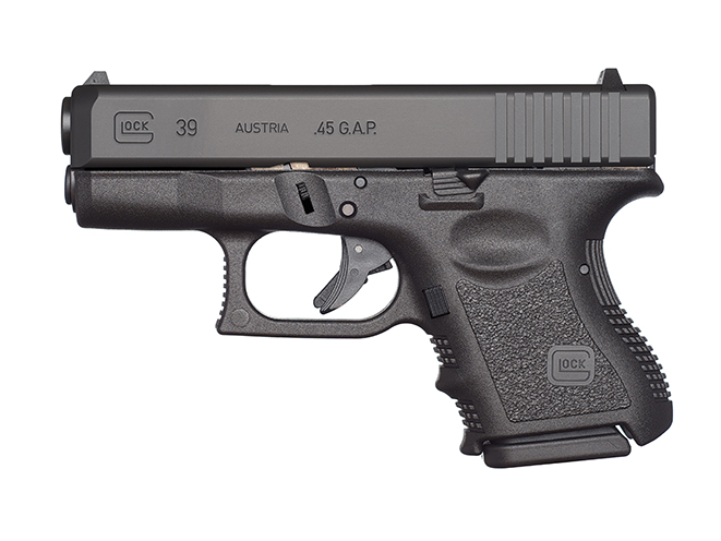 Glock 39 pistol