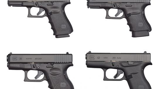 concealed carry glock pistols