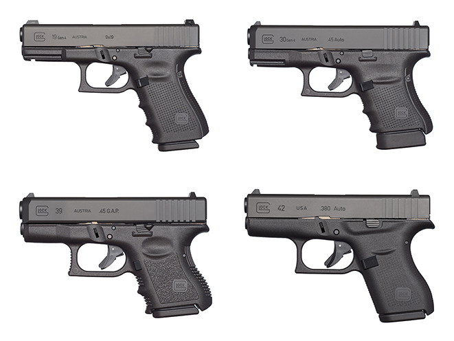 Baby Glocks: 12 Great Glock Pistols for Concealed Carry & Self Defense