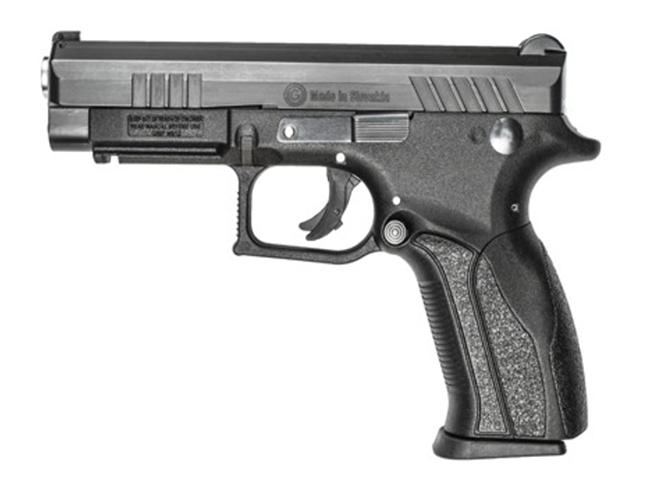 Grand Power Q100 pistol left side