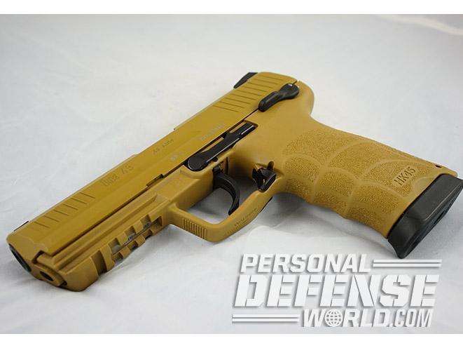 Heckler & Koch HK45 45 acp pistol