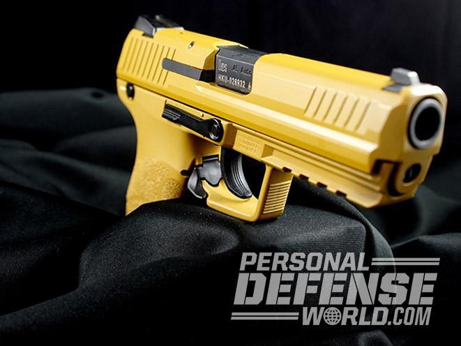 Heckler & Koch HK45 45 acp pistol right side