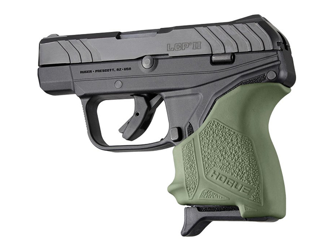 hogue od green ruger lcp ii grip sleeve