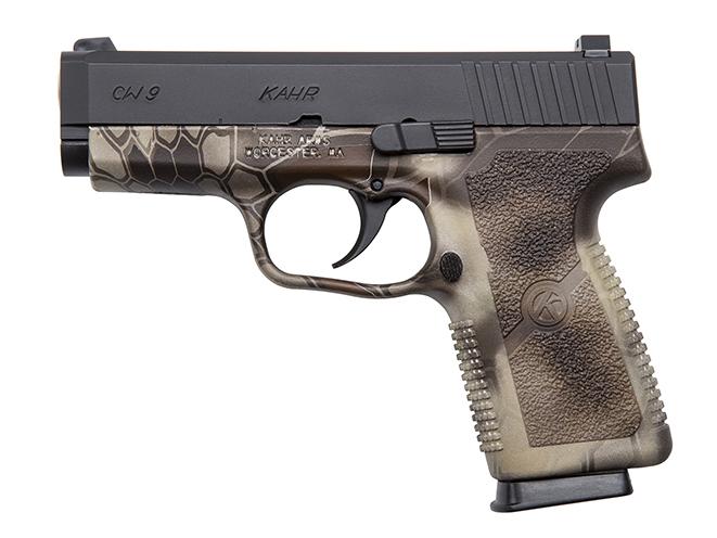 Kahr CW9093KRT pistol left side
