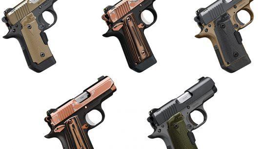 kimber micro and micro 9 pistols