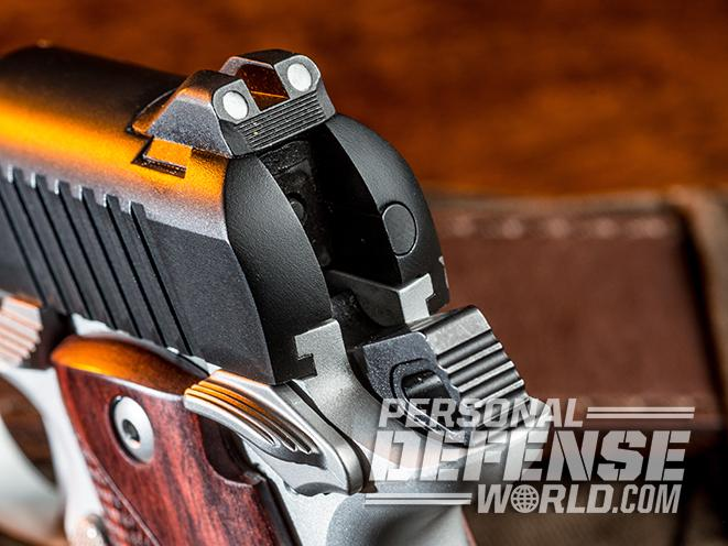 Kimber Micro 9 rear sight