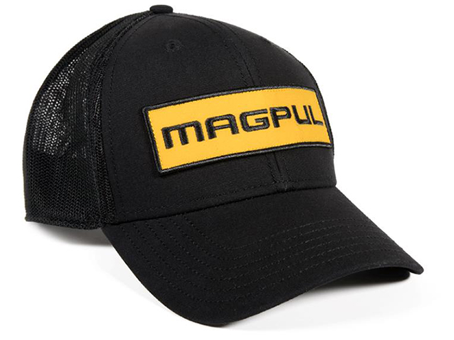 MAGPUL APPAREL woodmark patch hat black and yellow