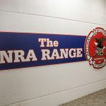 NRA Range sign