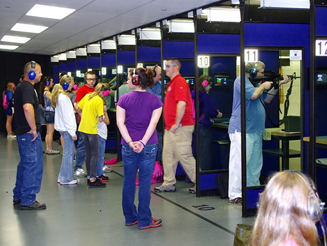 NRA Range shooters