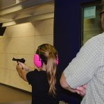 NRA Range young shooter
