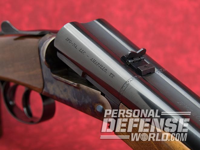 Pedersoli Howdah pistol action