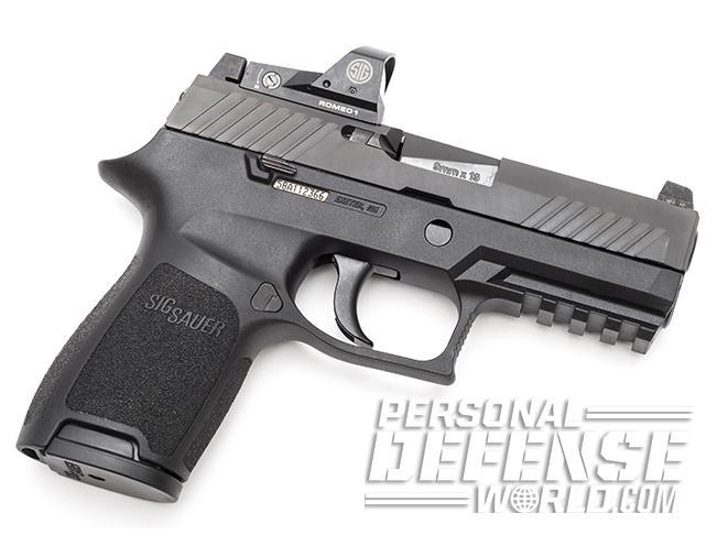 Sig Sauer P320 RX Compact pistol