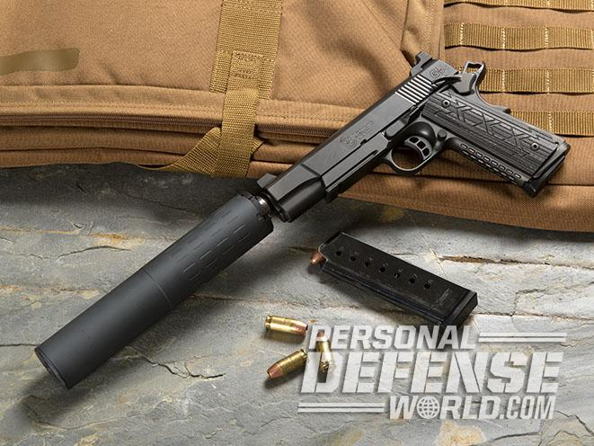 SilencerCo Hybrid suppressor for handguns