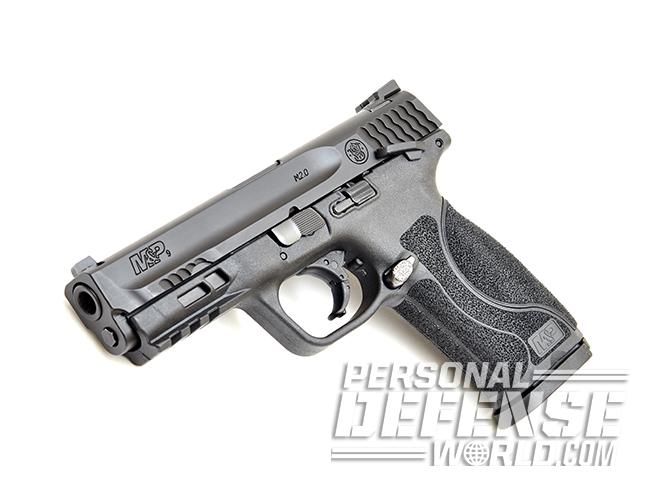 Smith & Wesson M&P9 M2.0 pistol left angle