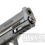 Smith & Wesson M&P9 M2.0 pistol muzzle