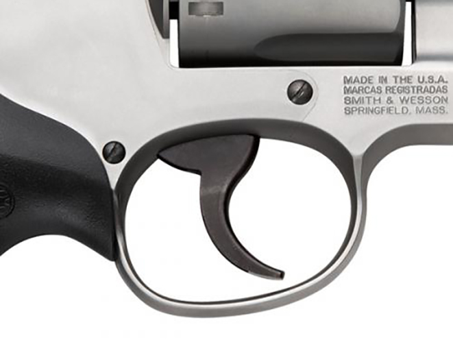 Smith & Wesson Model 66 Combat Magnum Revolver trigger