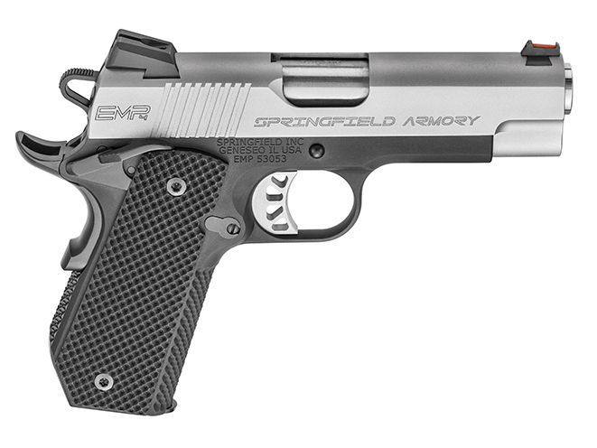 "Springfield EMP 4"" Concealed Carry Contour everyday carry handguns"