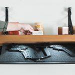 Tactical Walls RFID Concealment Shelves gun safes