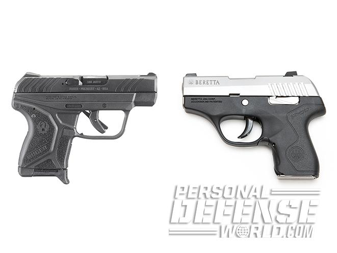 Tale of the Tape: Ruger LCP II  380 ACP vs  Beretta Pico  380 ACP