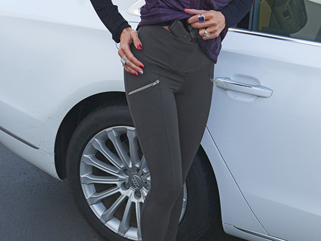 UnderTech Undercover Zip Pocket Concealed Carry Leggings shooting gear