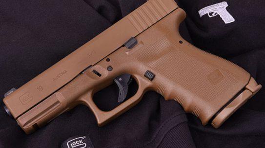 Vickers Glock pistol