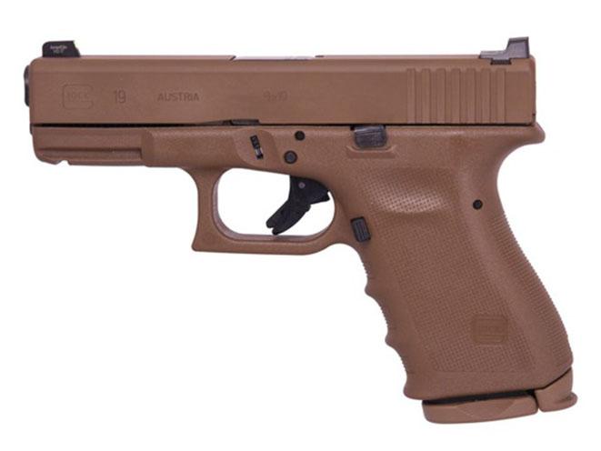 Vickers Glock flat dark earth pistol
