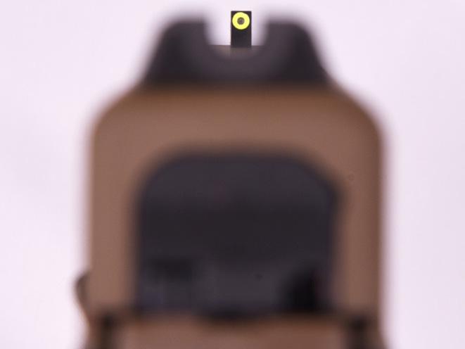 Vickers Glock fde pistol sights