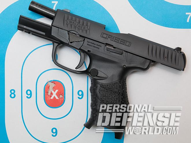 Walther Creed pistol groups